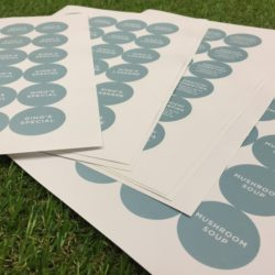 Rounded Stickers