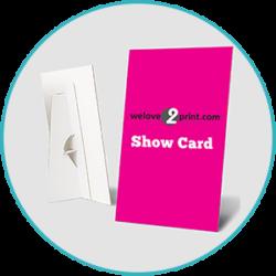 Strut Show Cards